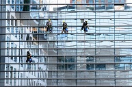 commercial window cleaning professional services